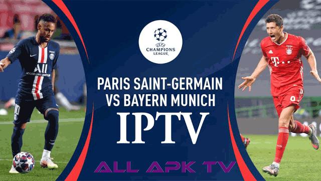 Bayern vs Psg Champions League IPTV 23-08-2020 1