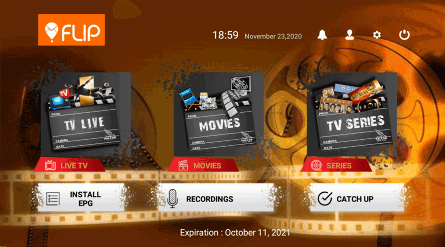 Flip IPTV APK 3 Activation Login Premium 1
