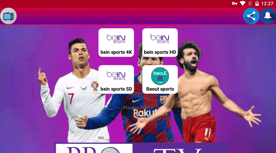 Pro Apk TV New IPTV For Android 1