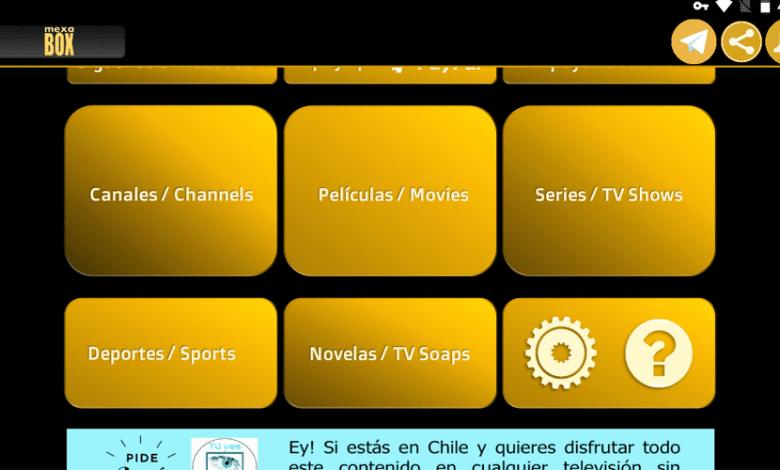 MexaBox HD TV New IPTV APK   ALL APK TV